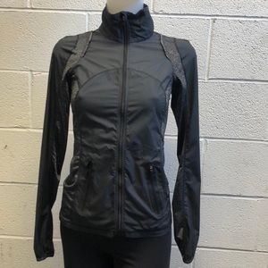 lululemon athletica Jackets & Coats - Lululemon black jacket, sz 2, 61785